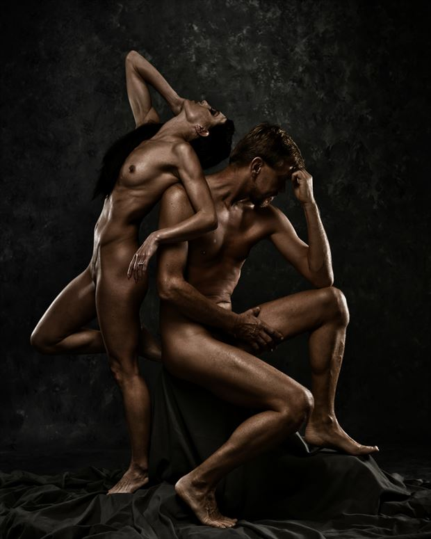 artistic nude couples photo by photographer r pedersen