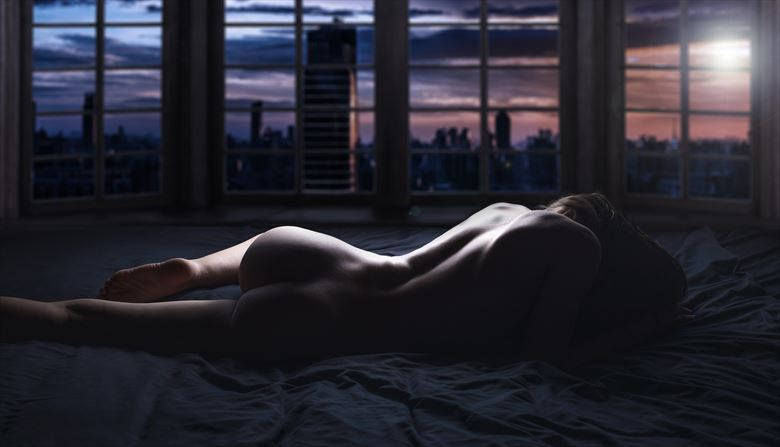 artistic nude digital photo by photographer harrison photography