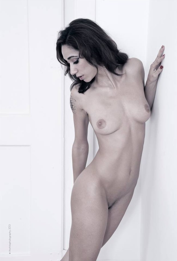 artistic nude emotional photo by model tess