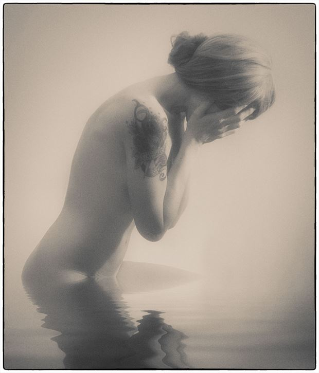 artistic nude emotional photo by photographer stevelease