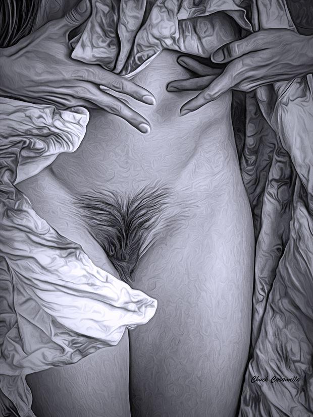 artistic nude erotic artwork by artist charles caramella