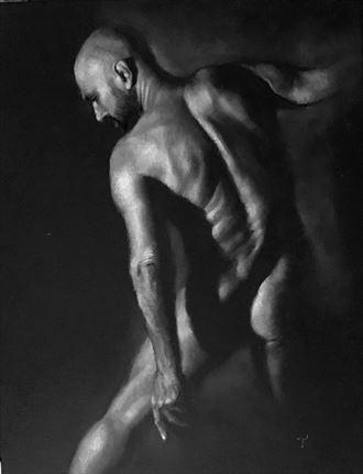 artistic nude erotic artwork by artist tai lin