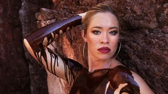 artistic nude erotic artwork by model andrea noeli