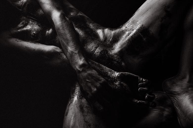 artistic nude erotic artwork by photographer axxxon