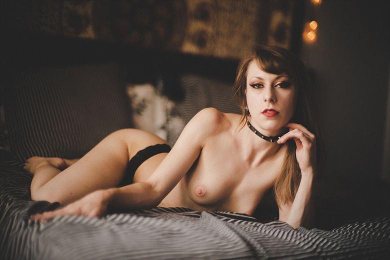 artistic nude erotic photo by model dahlia black