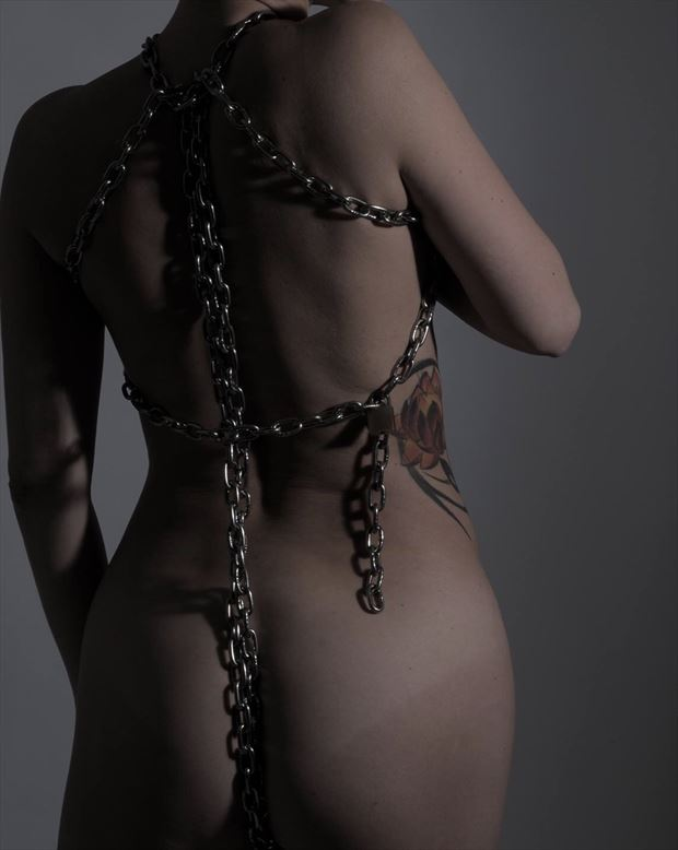artistic nude erotic photo by model linaill