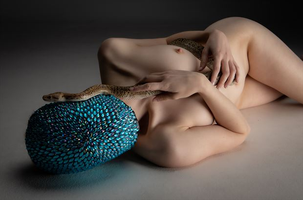 artistic nude erotic photo by photographer eric upside brown