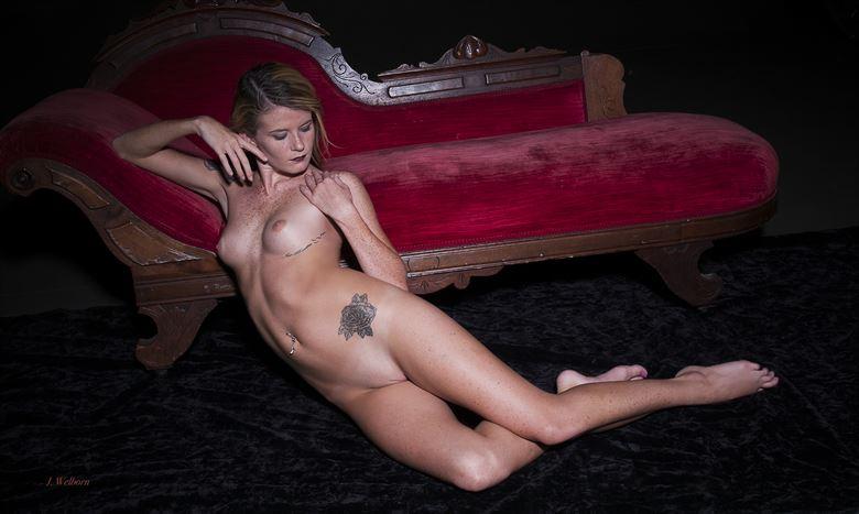 artistic nude erotic photo by photographer j welborn