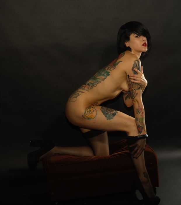artistic nude erotic photo by photographer james curran