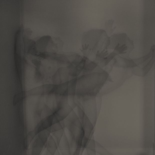 artistic nude experimental photo by model madeline reynolds