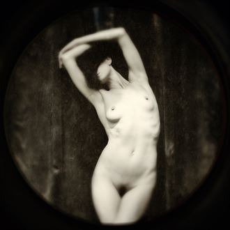 artistic nude experimental photo by photographer stevelease
