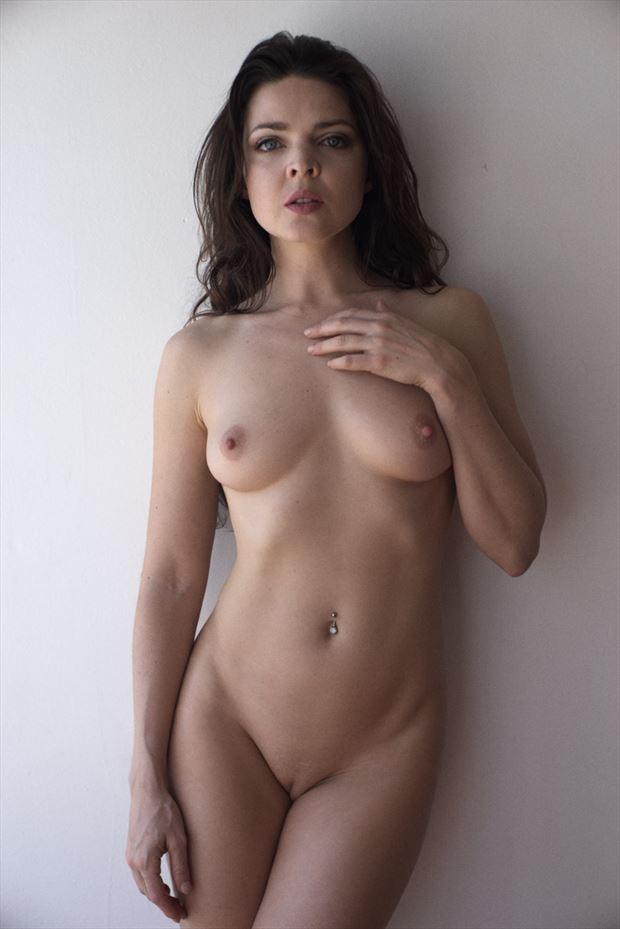artistic nude expressive portrait photo by model pure rebel