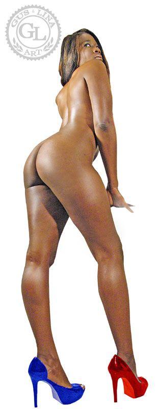 artistic nude fantasy artwork by artist guslina art