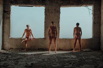 artistic nude fantasy artwork by model dorian