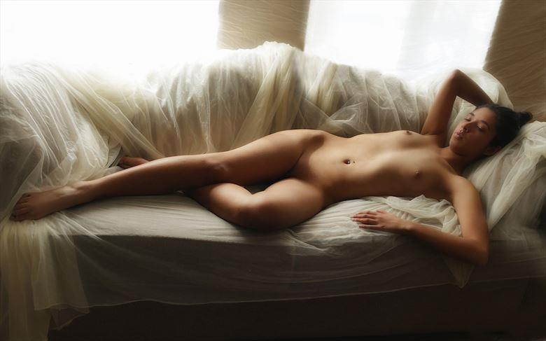 artistic nude fantasy artwork by model hannah babcock