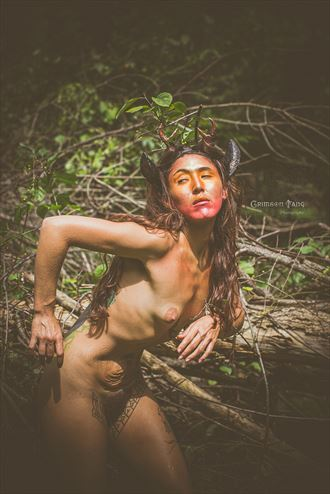 artistic nude fantasy photo by photographer fayev