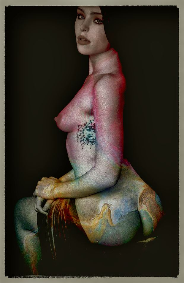 artistic nude fantasy photo by photographer mykel