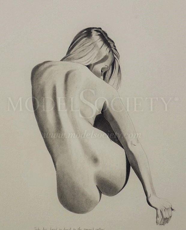 artistic nude figure study artwork by artist the artist s eyes