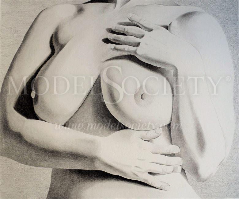 artistic nude figure study artwork by artist through the artist s eyes
