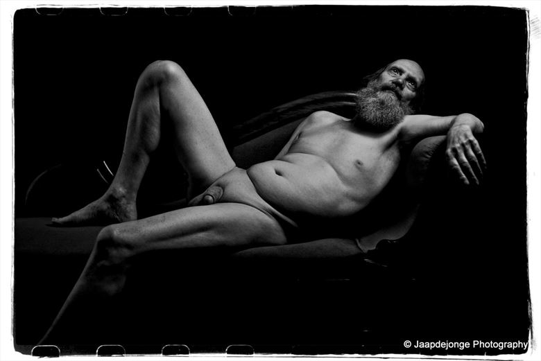 artistic nude figure study photo by model gerardm