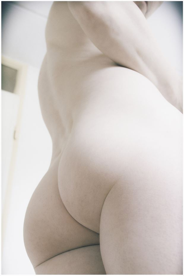 artistic nude figure study photo by model marschmellow