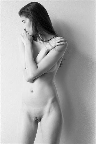 artistic nude figure study photo by model vittoria