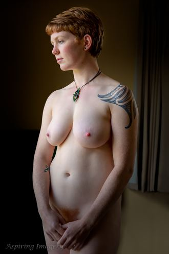 artistic nude figure study photo by photographer aspiring imagery