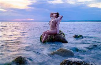 artistic nude figure study photo by photographer chriswoodman_photo
