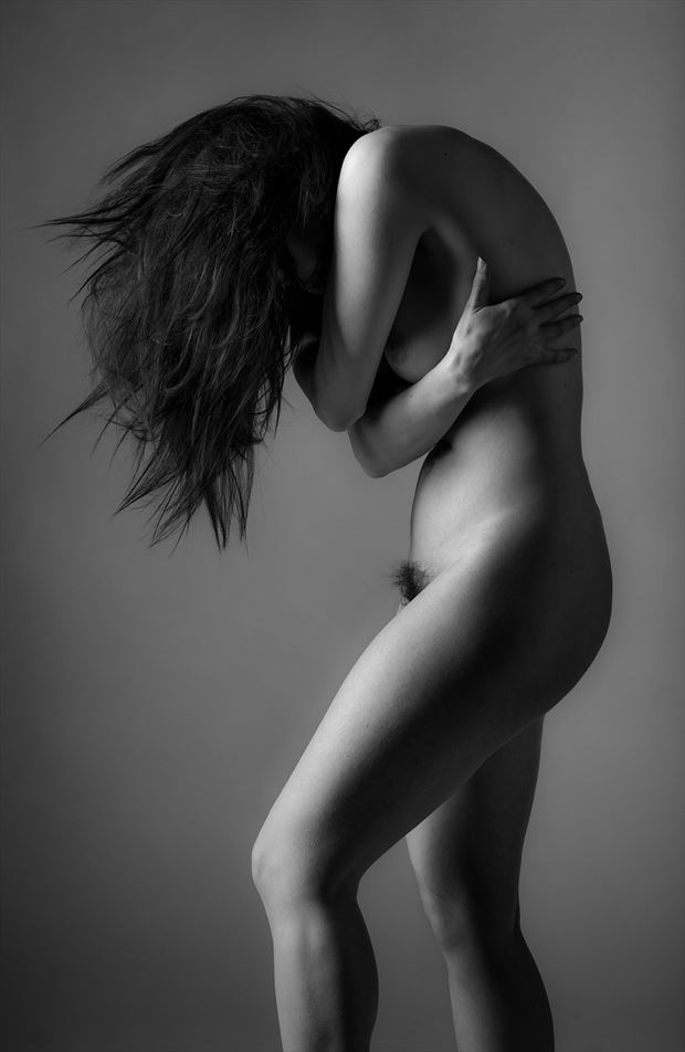 artistic nude figure study photo by photographer ellis