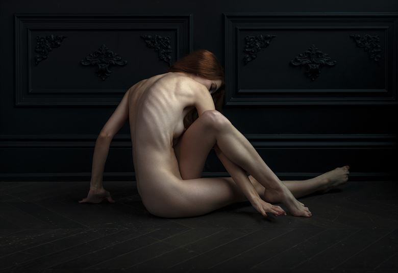 artistic nude figure study photo by photographer ellis
