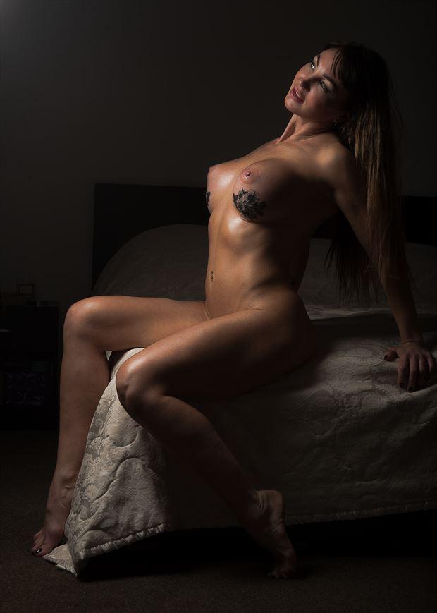 artistic nude figure study photo by photographer glossypinklipstick