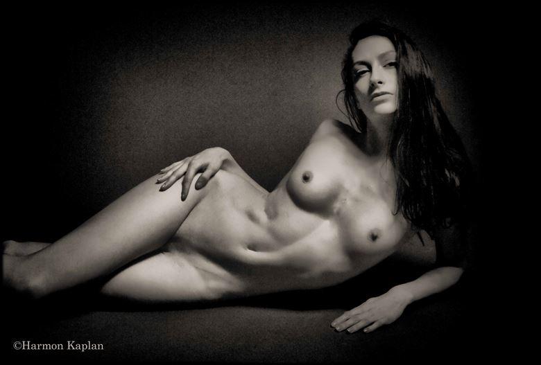 artistic nude figure study photo by photographer harmon kaplan