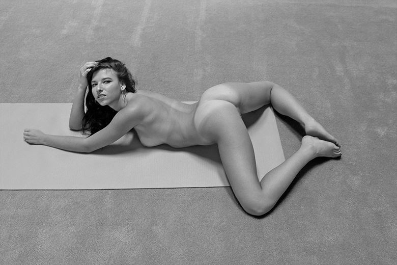 artistic nude figure study photo by photographer robert l person