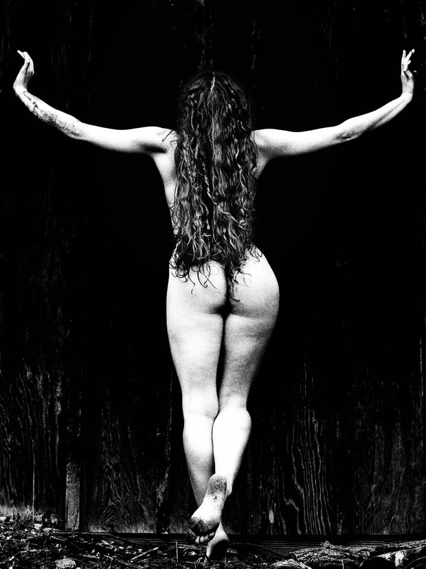 artistic nude figure study photo by photographer stevelease