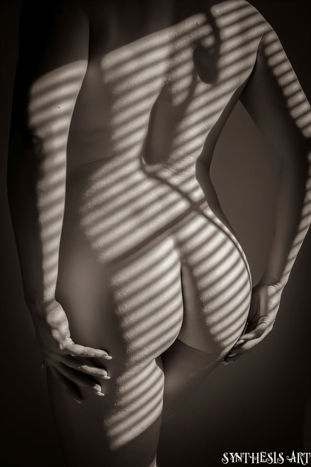 artistic nude figure study photo by photographer synthesis art 1