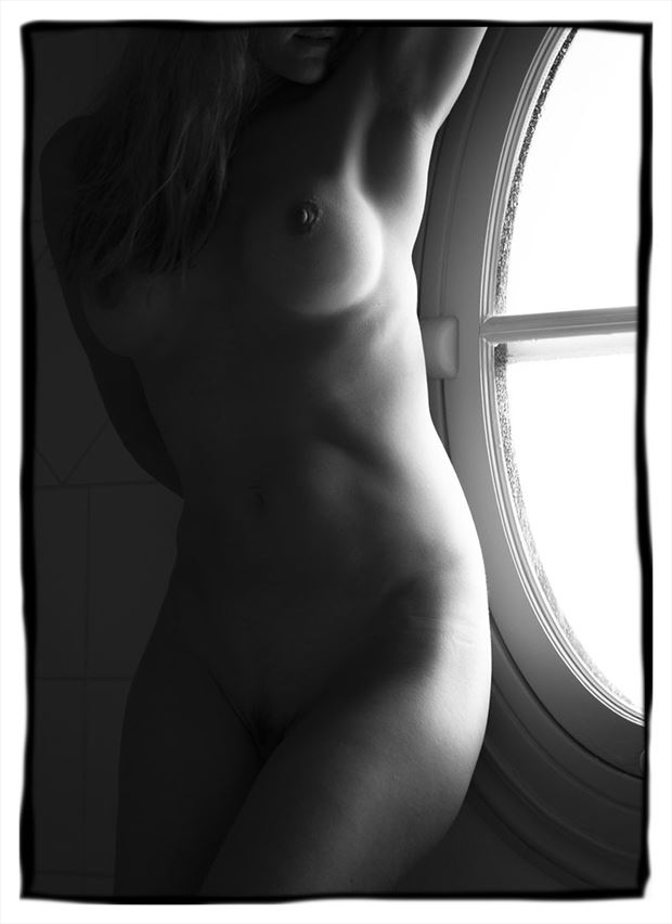 artistic nude figure study photo by photographer tim rollins