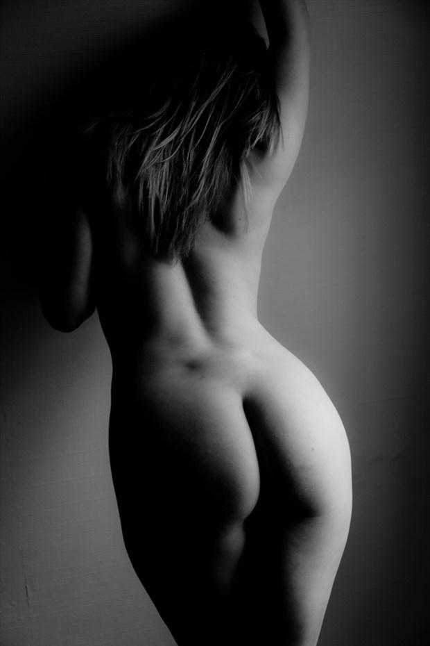 artistic nude figure study photo by photographer werner lobert