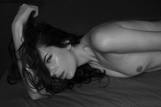 artistic nude glamour photo by model elodie hb