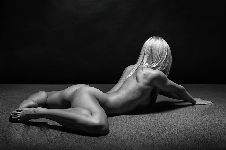 artistic nude implied nude artwork by model leggykelly