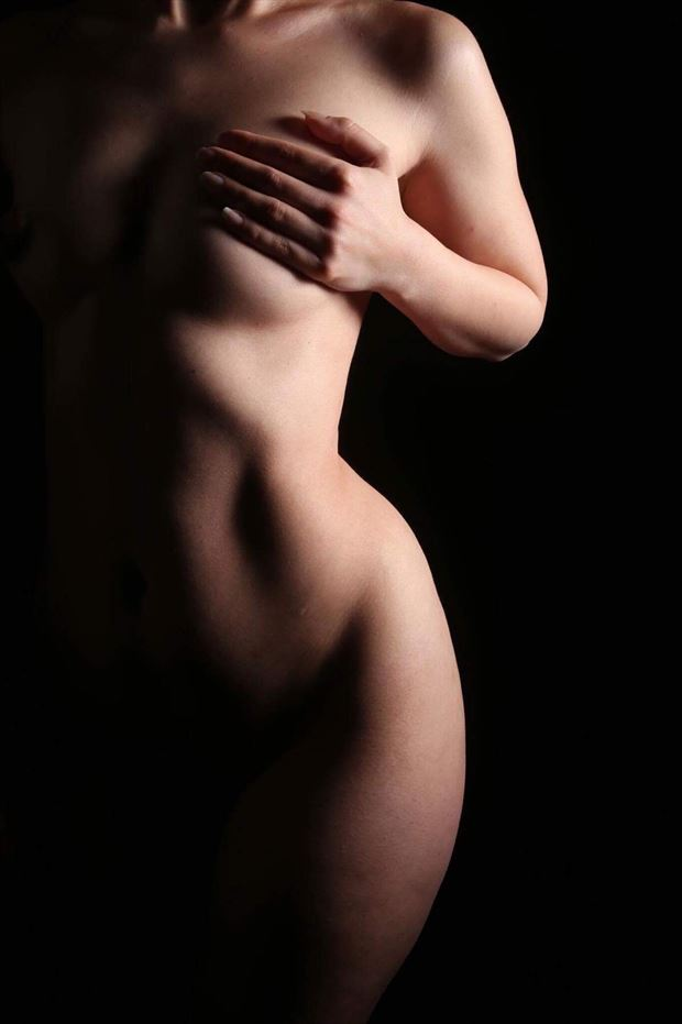 artistic nude implied nude photo by model aferlysunflower