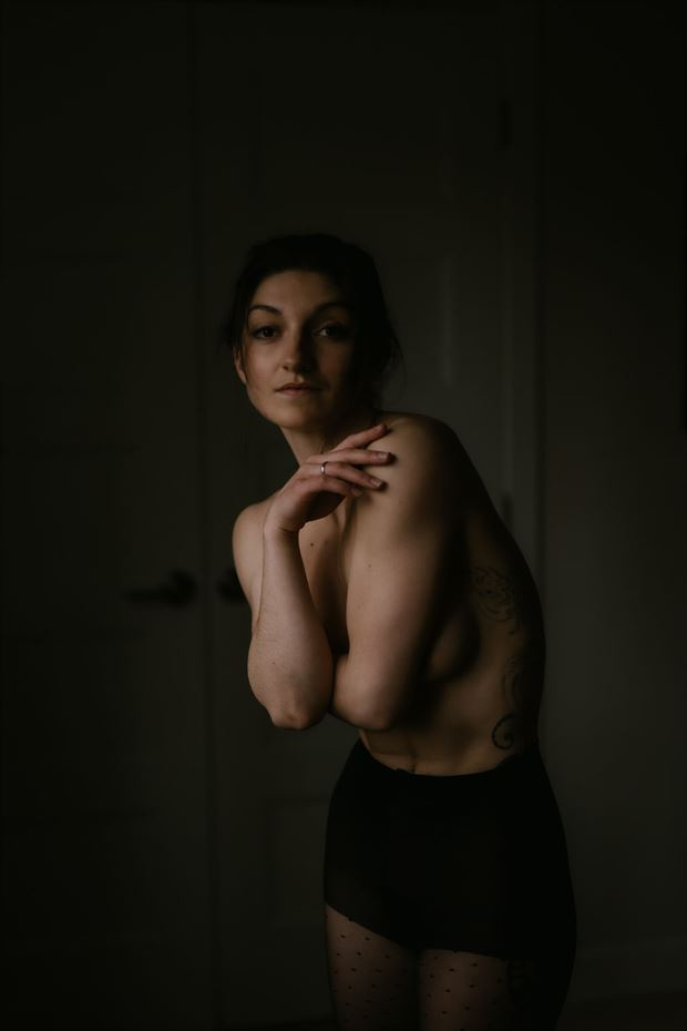 artistic nude implied nude photo by model dahliahrevelry
