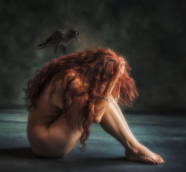 artistic nude implied nude photo by model mina salome