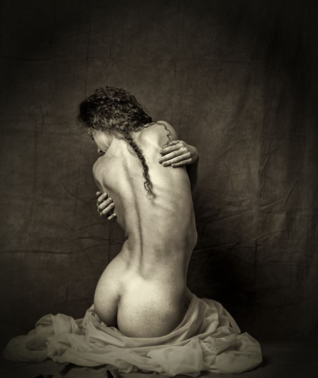 artistic nude implied nude photo by photographer shawn crowley