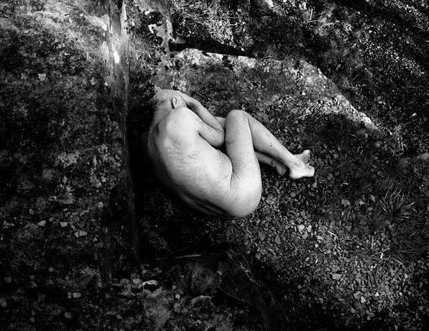 artistic nude implied nude photo by photographer woodman chris