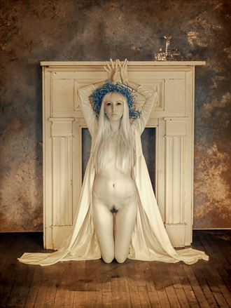 artistic nude implied nude photo by photographer yevette hendler
