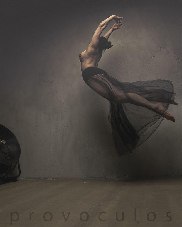 artistic nude lingerie photo by model ceara blu
