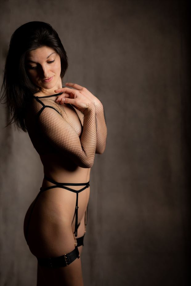 artistic nude lingerie photo by model dahliahrevelry