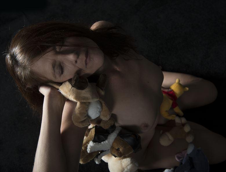 artistic nude lingerie photo by model model heidi