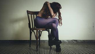 artistic nude lingerie photo by photographer ennio cusano
