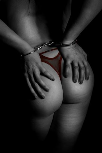 artistic nude lingerie photo by photographer harvey potts photography
